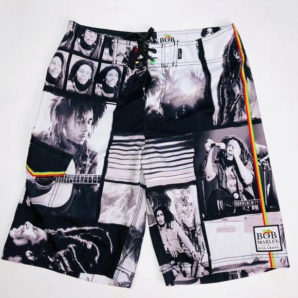 db3c1497dc Billabong Other - Billabong Bob Marley Rasta Board Surf Shorts 31